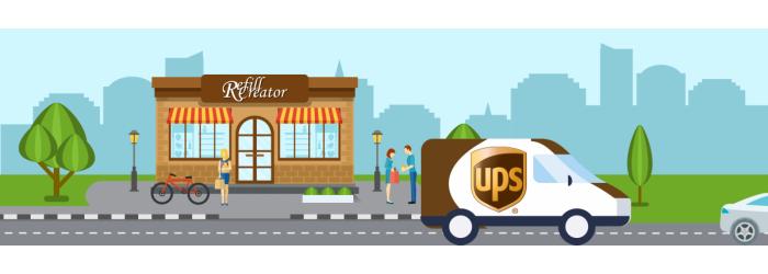 Ophaling UPS